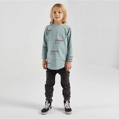 MINIKID Штаны PANTS ACID BLACK MINI