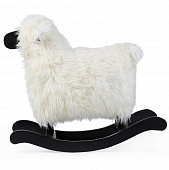 CHILDHOME Овечка-качалка ROCKING SHEEP WHITE/BLACK