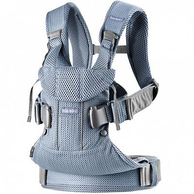 BABYBJORN Рюкзак-переноска ONE MESH GREY/BLUE