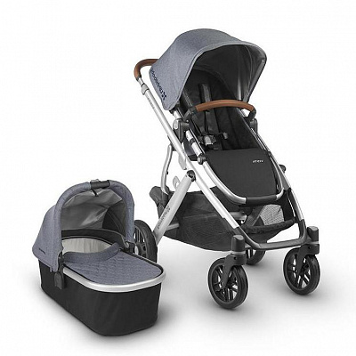 UPPA BABY Коляска VISTA BLUE MELANGE 2В1