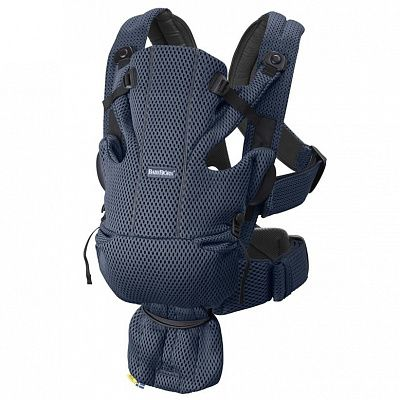 BABYBJORN Рюкзак-переноска MOVE 3D MESH DARK BLUE